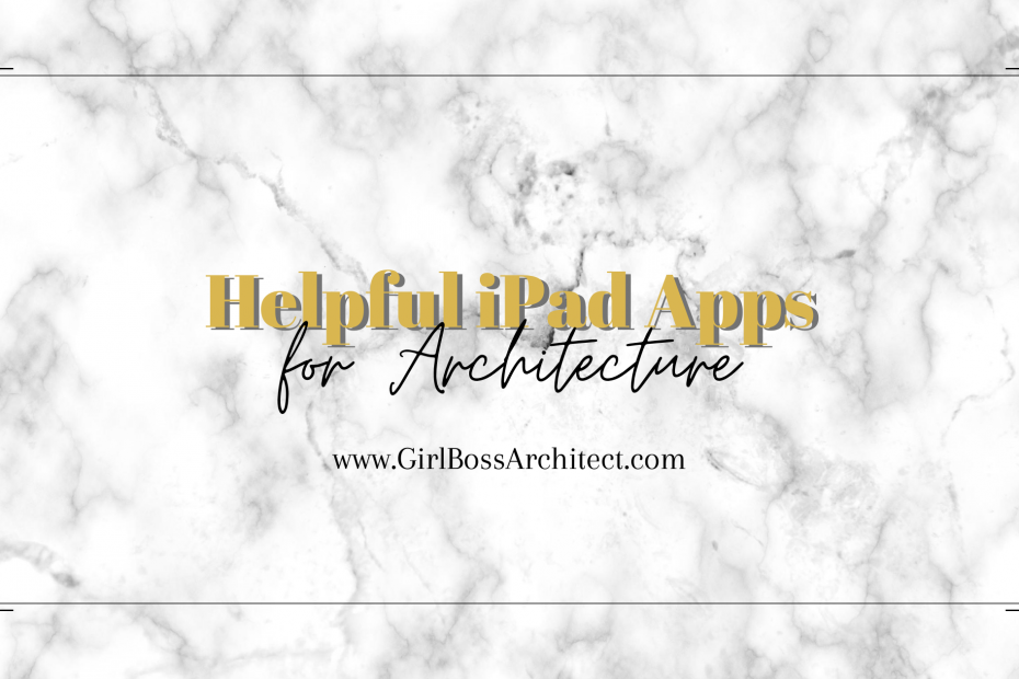 iPad Apps Architects and Architecture Students Use
