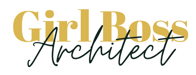 Girl Boss Architect Logo