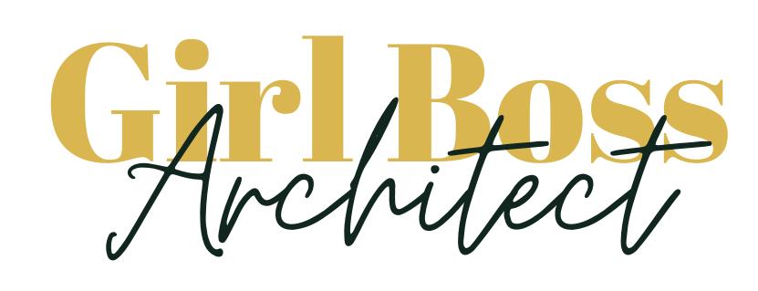 Girl Boss Architect Logo
